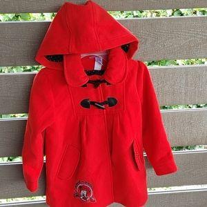 Disney Winnie Red Kids Jacket size 5 Coat
